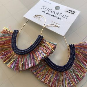 Sugarfix by Baublebar fringe earrings NWT
